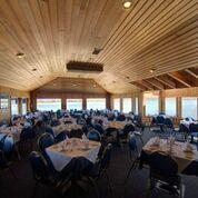 27.1 Large room inside restaurant