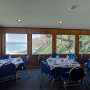 29.1 View of Bluff from inside restaurant