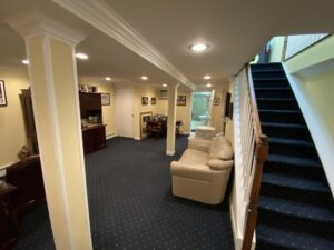downstairs offices